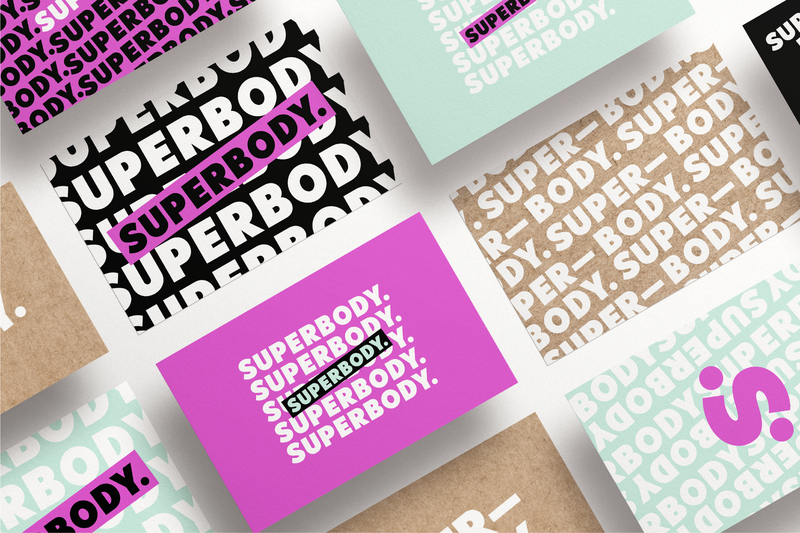 __Superbody Nutrition Fitness Coaching Business Card Design