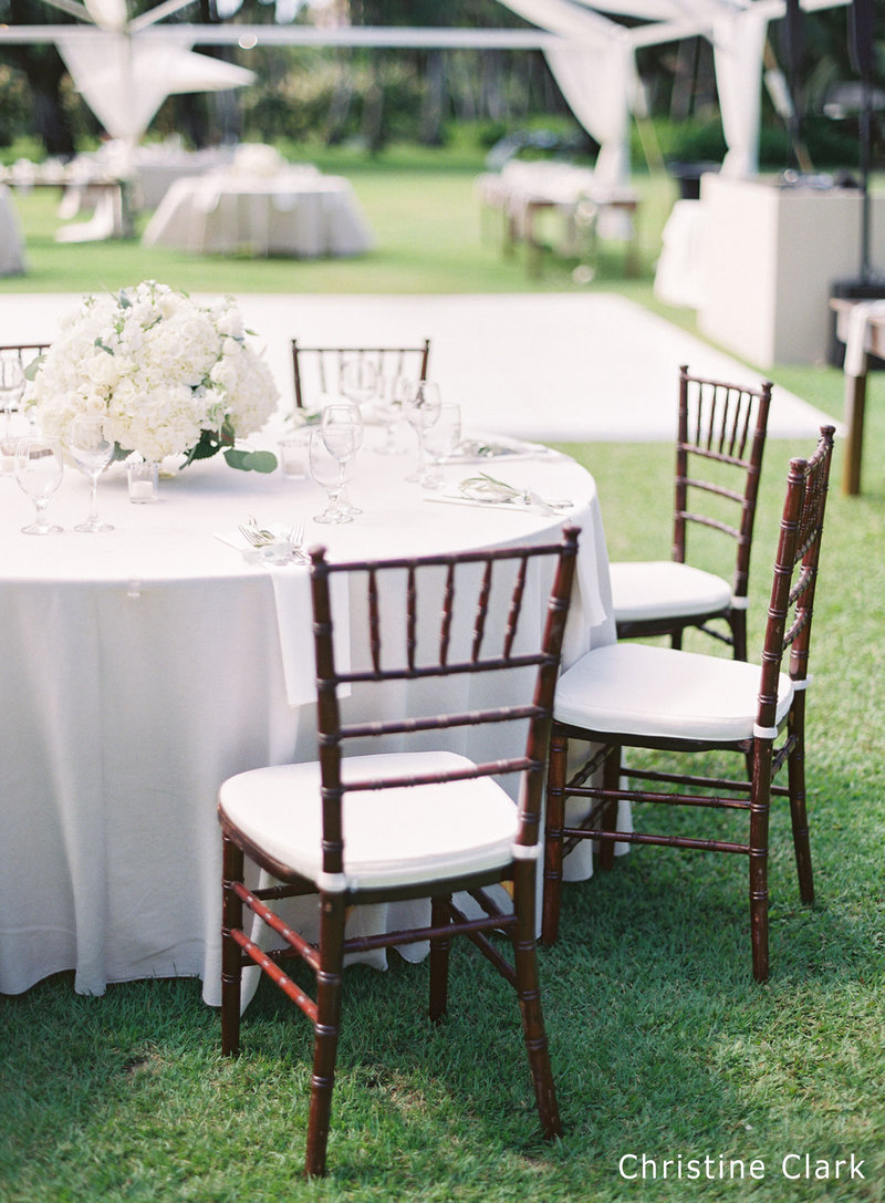 WM Mahogany Chiavari Chairs