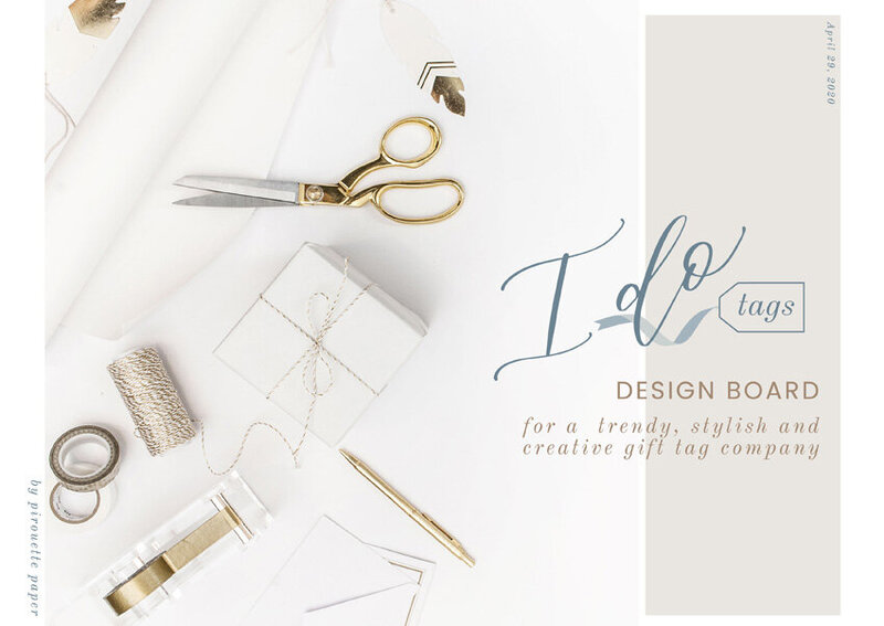 pirouettepaper.com | Logo Design + Branding | Pirouette Paper Company | I Do Tags Logo + Branding, Custom Gift Wrapping and Gift Tags 02