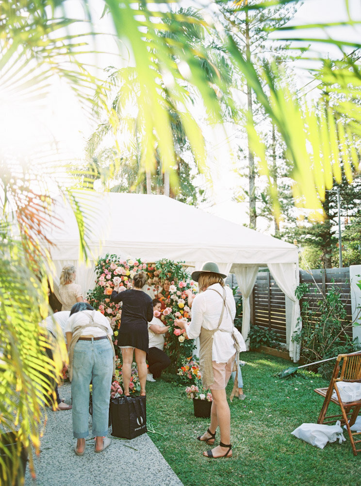 Byron Bay Wedding Photographer Sheri McMahon - Oh Flora Workshop on Fine Art Film - Romantic Spring Wedding Ideas -00063