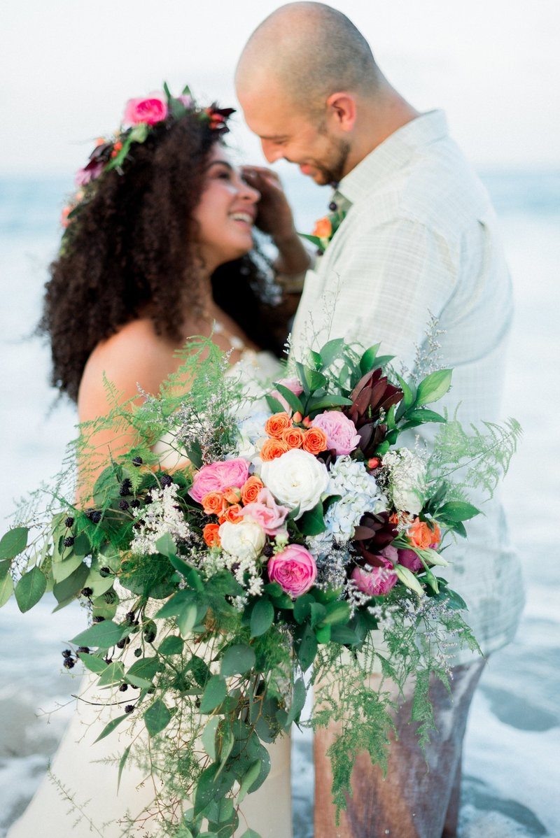 Vero Beach Wedding Photographer _ Vero Beach Wedding _ Beach Wedding _ floral crown _ beach bride _ tiffany danielle photography (29)