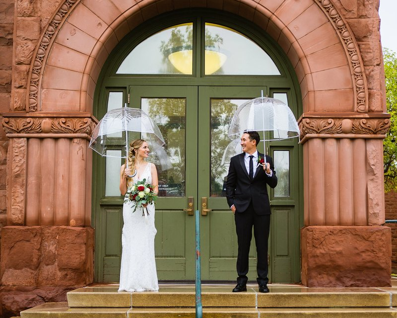 Flagstaff Arizona Wedding Photographers Courthouse