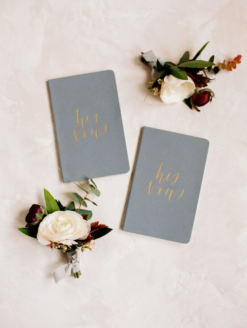 Vow Books for His and Her Vows
