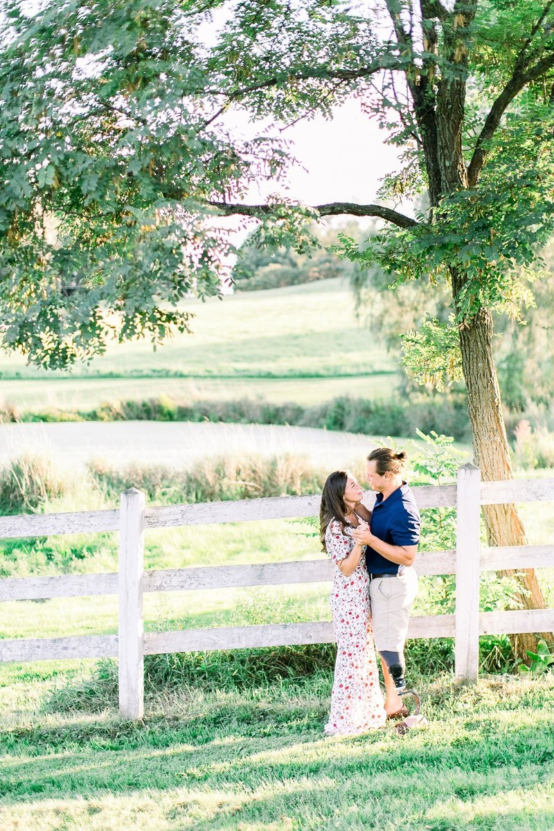 Pennsylvania Countryside Engagement Session by Emi Rose Studio (109)