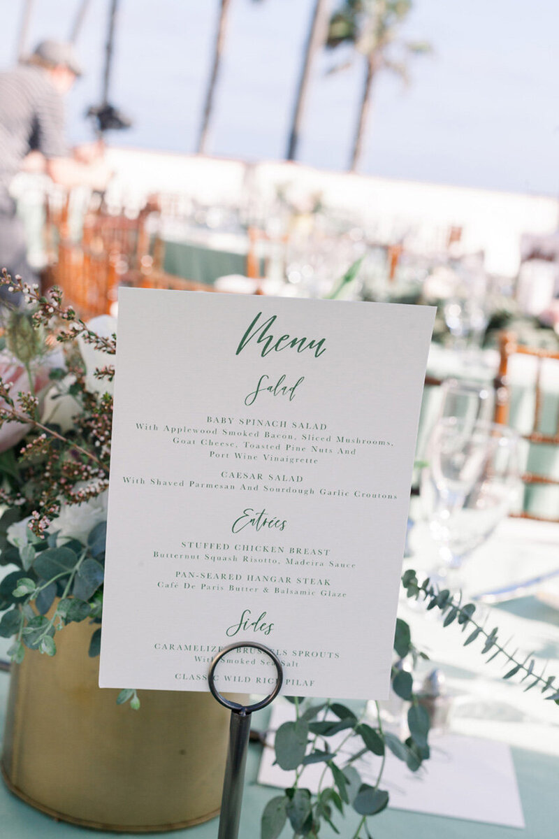 pirouettepaper.com | Wedding Stationery, Signage and Invitations | Pirouette Paper Company | Menus + Programs 47