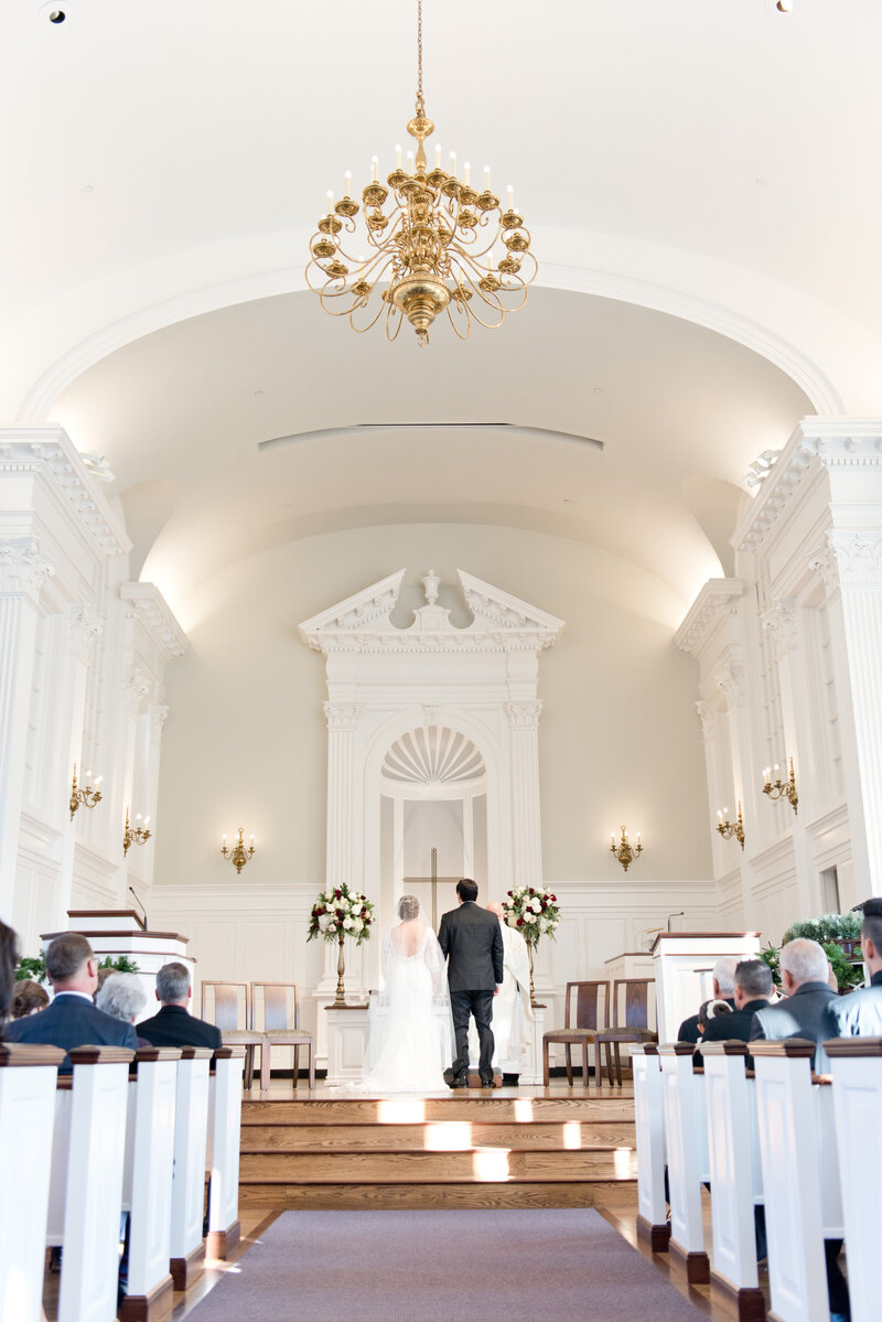 Robert Carr Chapel Wedding Ceremony in Fort Worth Texas