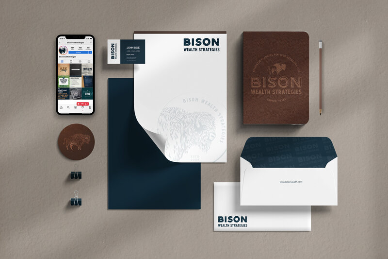 Financial Agency Branding Walcot Studio
