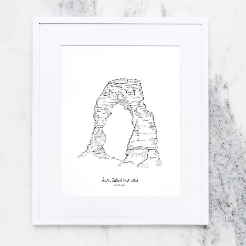 Etsy_NP_Arches_Framed_Print