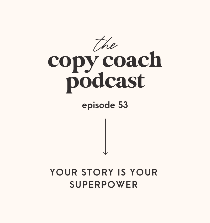Your Story is Your Super Power