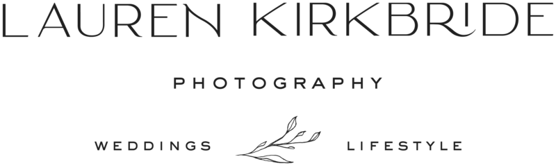 Lauren Kirkbride Photography - Custom Logo Design and Showit Website Design by With Grace and Gold - Photo - 5