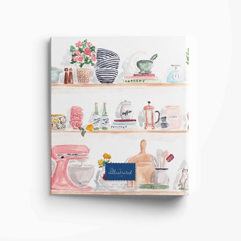 kitchen shelves binder mockup back low res