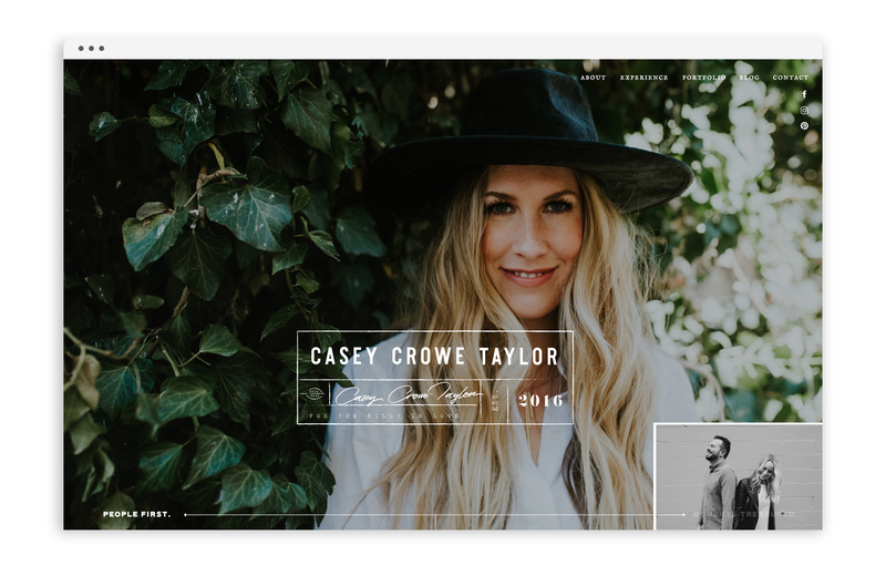 With Grace and Gold - Logo Design, Stationery Design, and Web Design for Creative Women in Business - Photographers - Casey Crowe Taylor - Photo3
