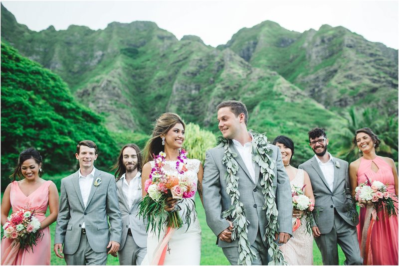 kualoa ranch wedding hawaii