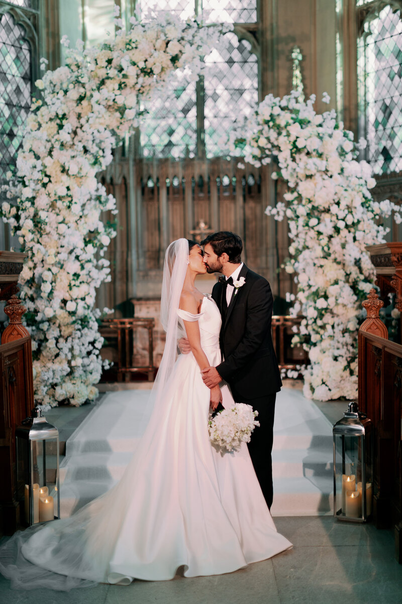 Intimate Wedding at Ashridge House England - Alice Wilkes Design