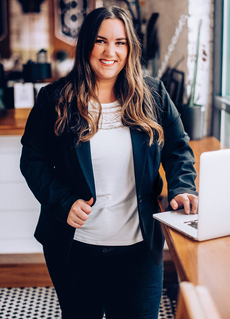 Alaina Biddulph, Owner and Brand Strategist of Brand Comber