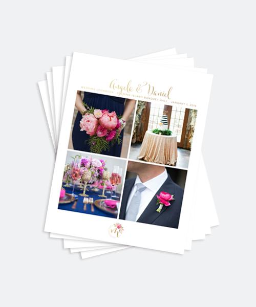 design look book template