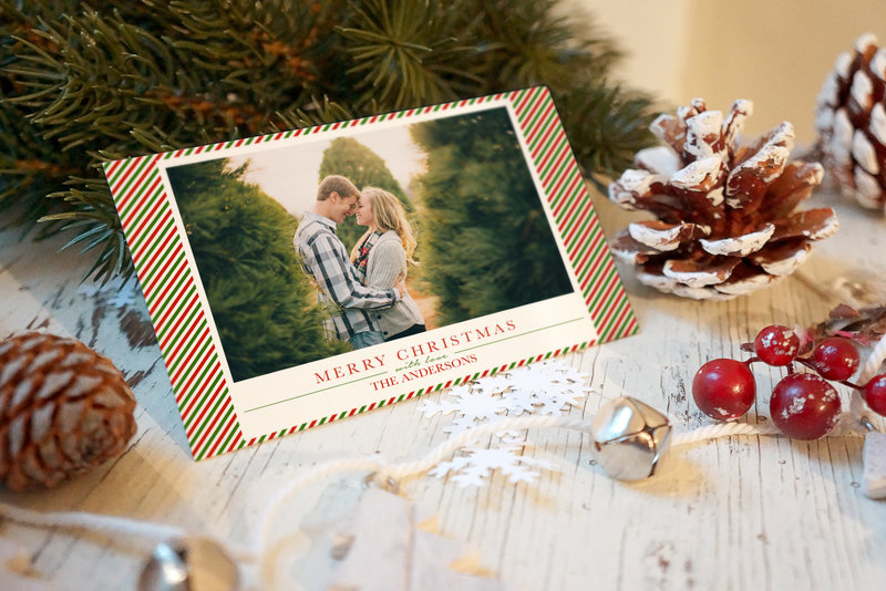 Engagement photo Christmas Cards