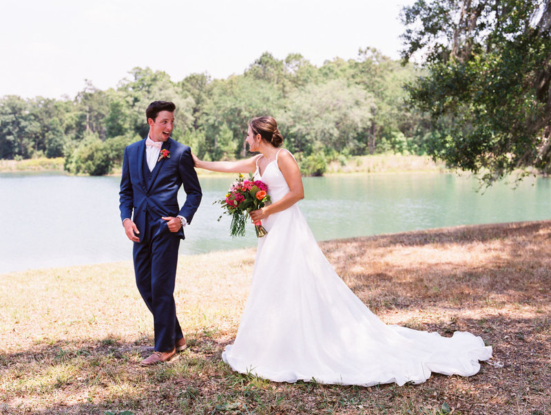 Charleston Weddings First Look