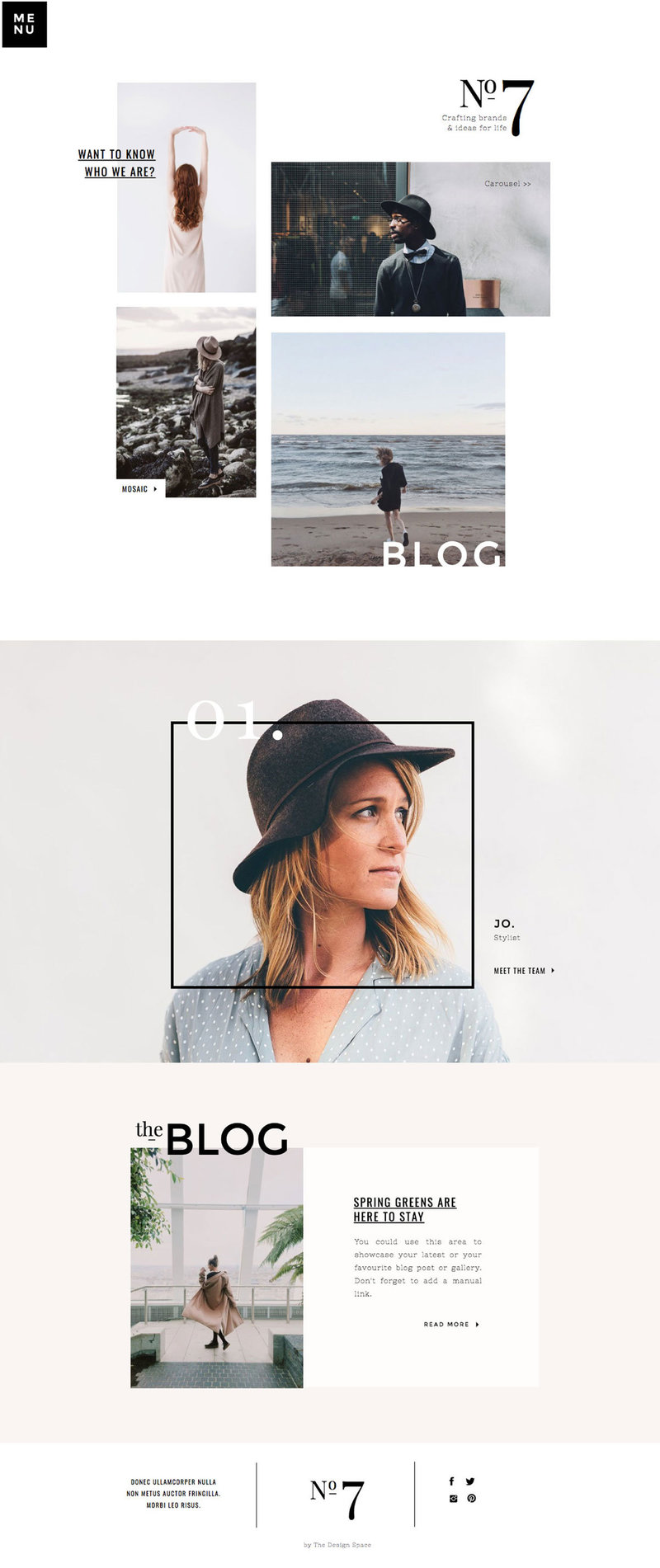 Design Space No 77 Showit Website Desktop Template