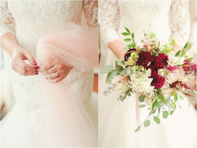 Rustic chic wedding details