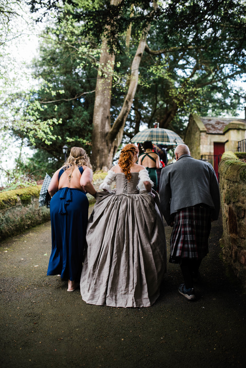 Wolf + Charlena-Outlander-Inspired-Wedding-Old-Glencorse-Kirk-Scotland_Gabby Chapin Photography_Print_0168