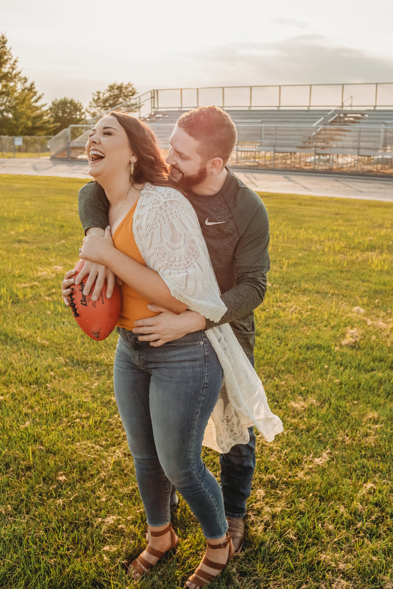 Danielle +  Josh Engagement Session_Kansas City Engagement_Flemming Park_Treolo Photography-5