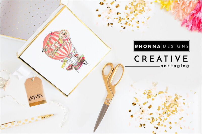 Creative Packagin with Rhonna Designs