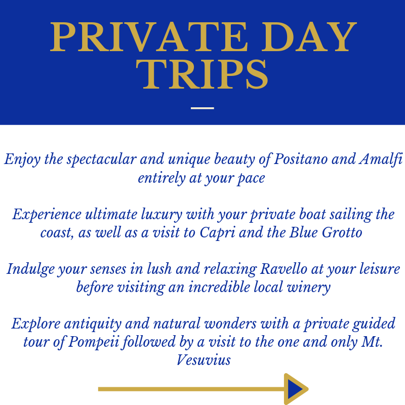 Amazing Amalfi P4 Private Day Trips