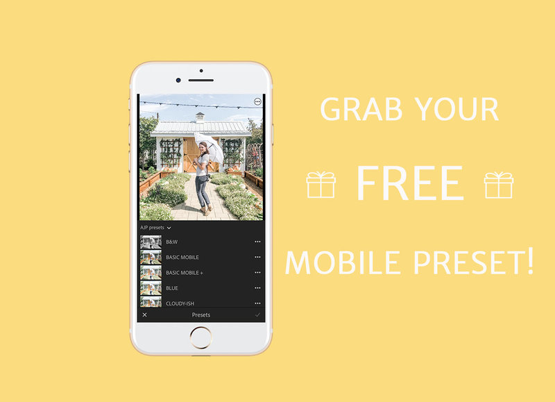 free lightroom mobile preset after popup mobile