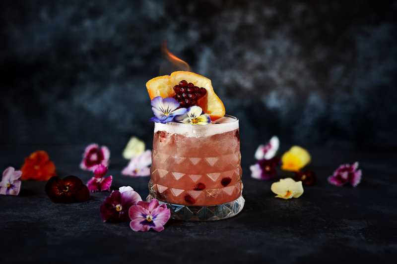 Grenadine Blossom cocktail
