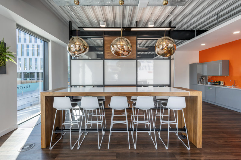 fiserv london office design
