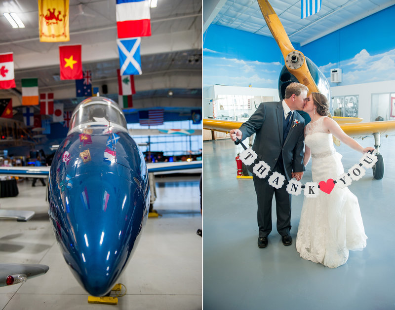 Fargo Air Museum Wedding Venue Kris Kandel Photographers (1)