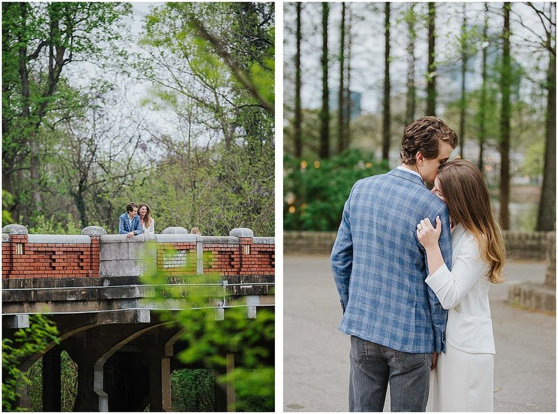 piedmont park engagement session atlanta wedding photographer