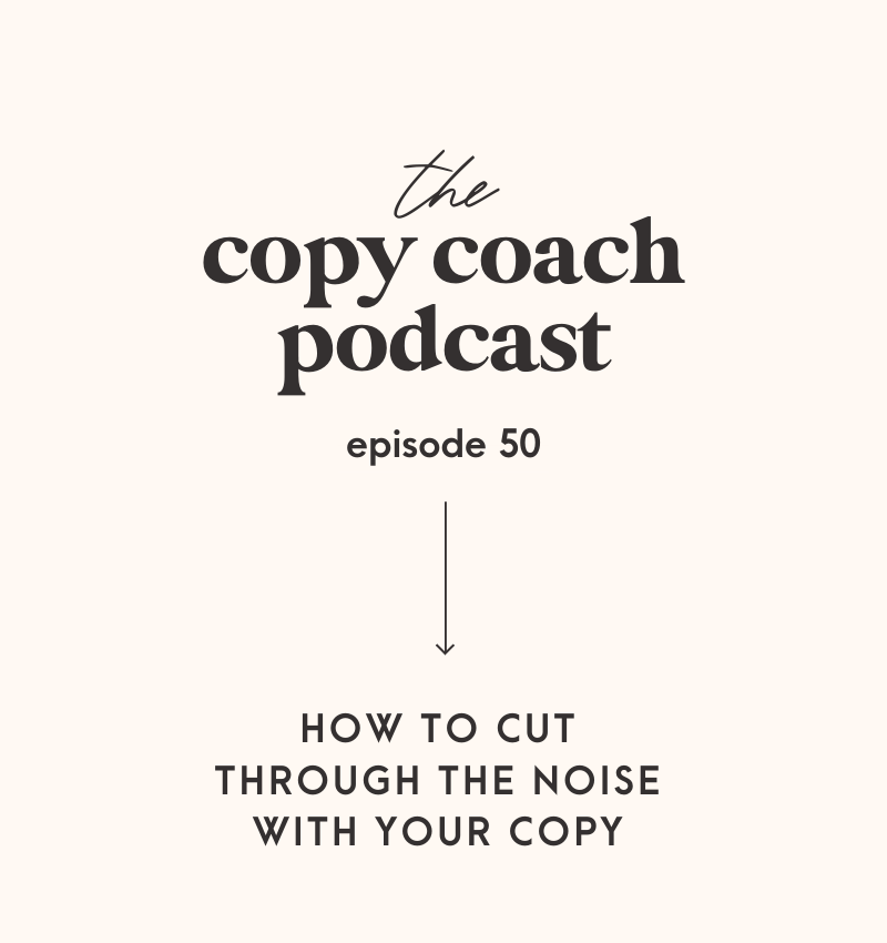 How to cut through the noise with your copy