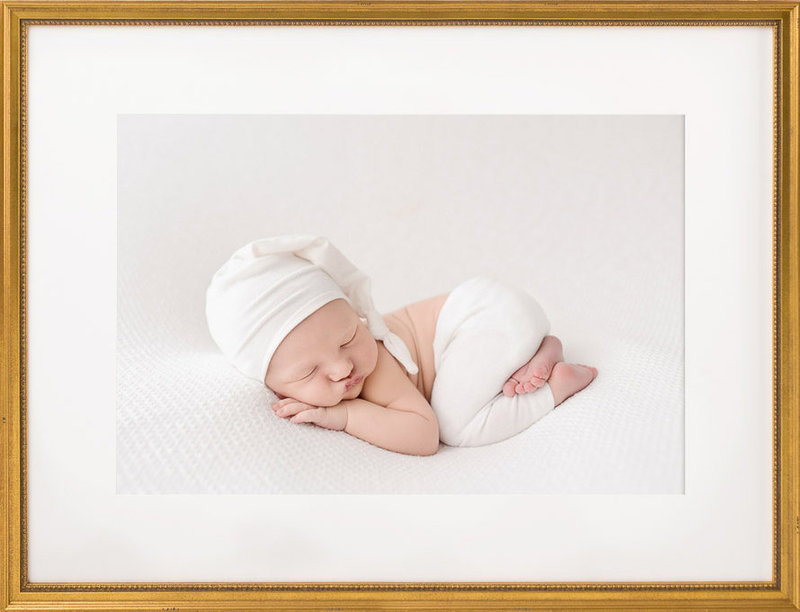 Newborn Photography all white| Salt Lake City, Utah