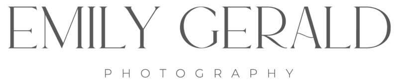 northern virginia studio newborn photographer emily gerald photography logo