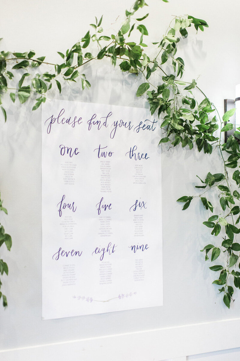 pirouettepaper.com | Wedding Stationery, Signage and Invitations | Pirouette Paper Company | Seating Charts 06