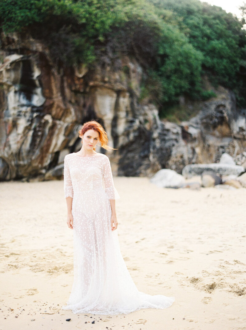 Sydney Fine Art Film Wedding Photographer Sheri McMahon - Sydney NSW Australia Beach Wedding Inspiration-00020