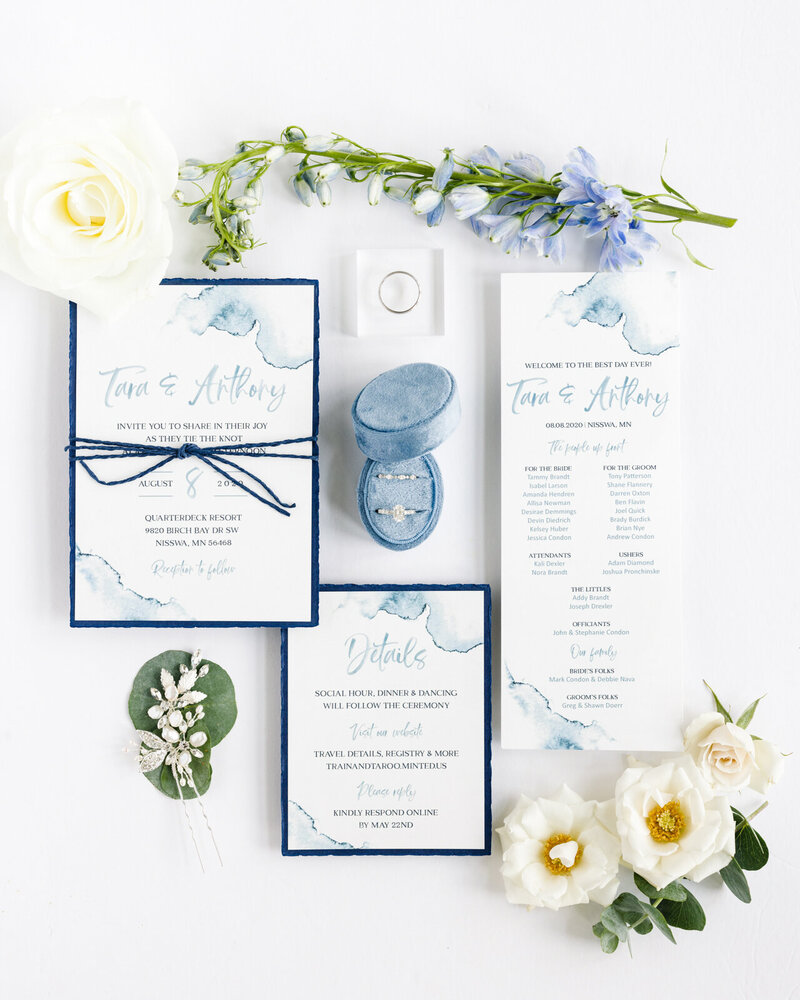 quarter-deck-resort-wedding-details-invitations-rings-wedding-photographer-shane-long-photography-engaged