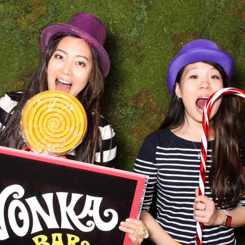 silly willy wonka theme booth