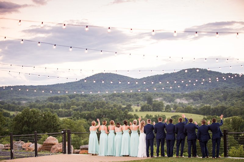 blue valley vineyard wedding