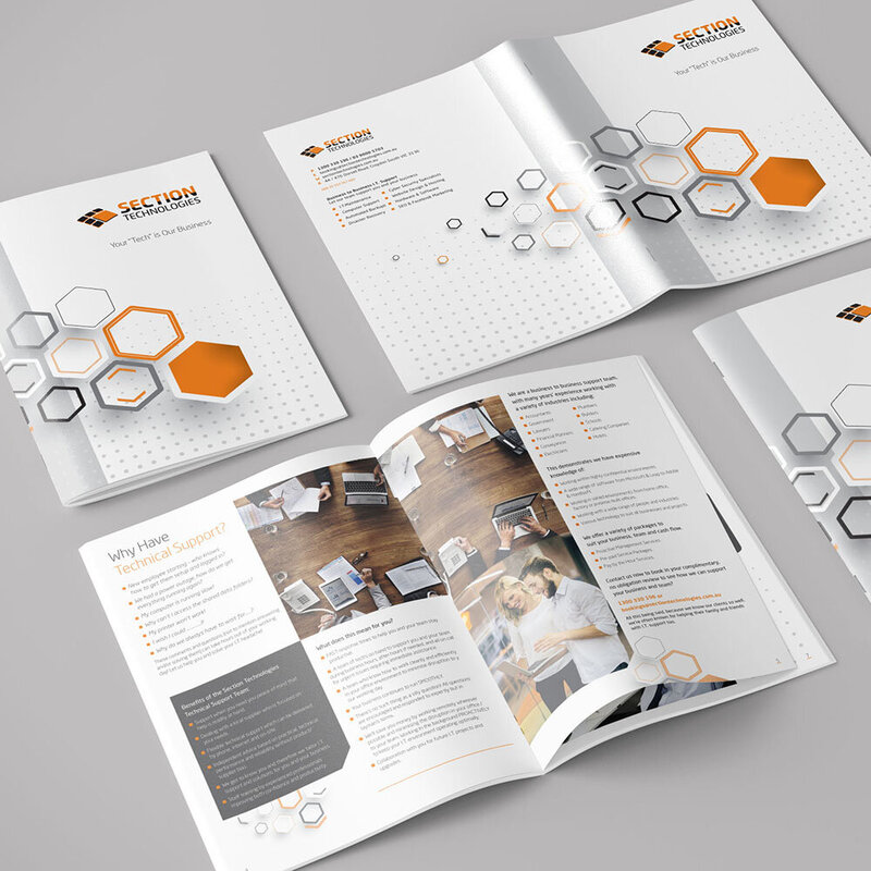 Section Technologies Corporate Brochure by The Brand Advisory