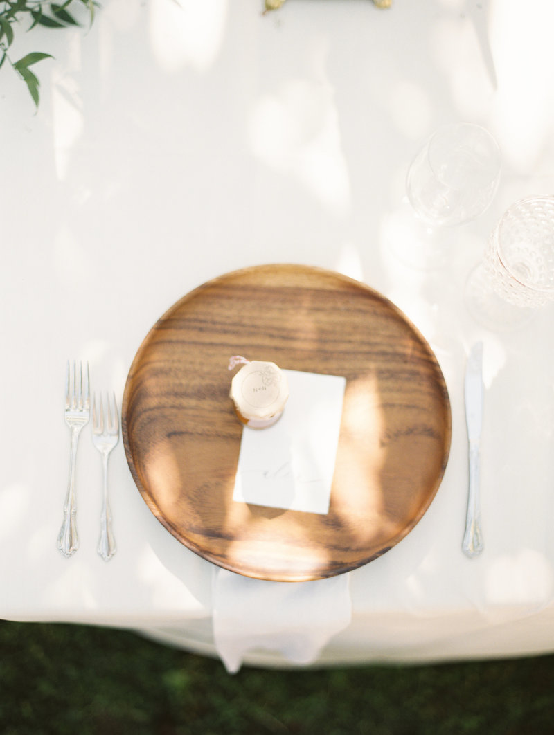 timber charger plate occasions 2