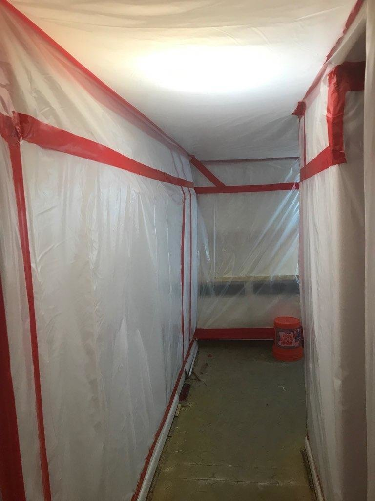 -Xtract Environmental Service removing asbestos