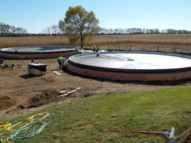 Lincoln Pipestone Rural Water_Tank Foundations