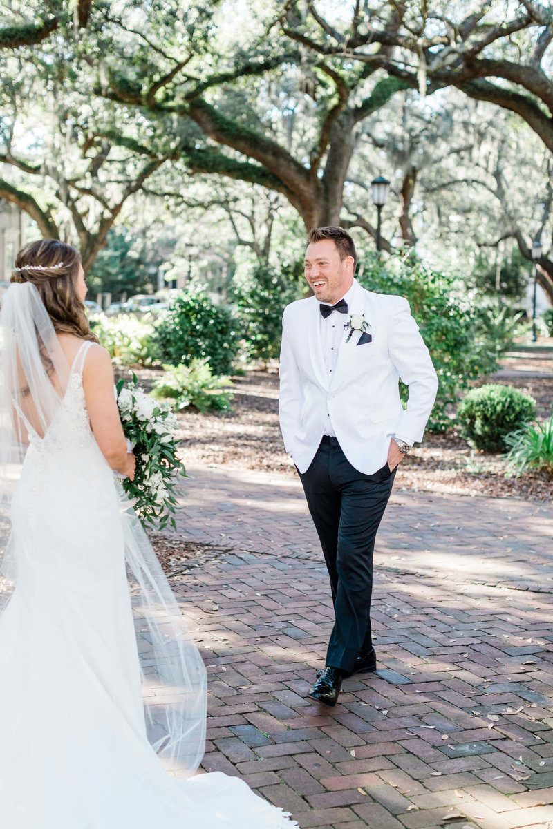Jessica and Phillip's Downtown Savannah Wedding by Apt. B Photography