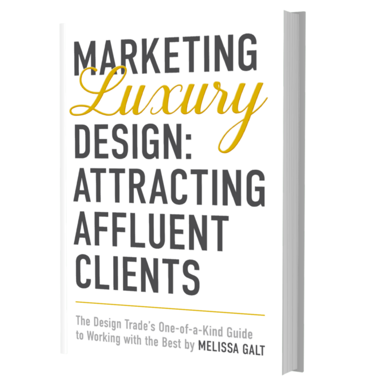 Attract Luxury Interior Design Clients Book