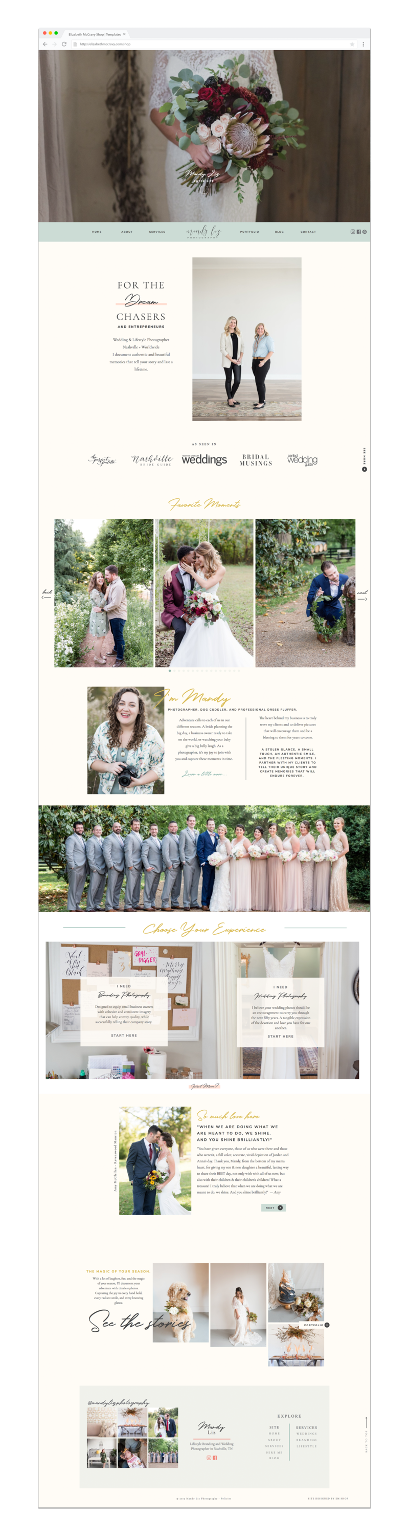 Elizabeth McCravy Showit Templates-Preview-Alice - Many Liz Photography