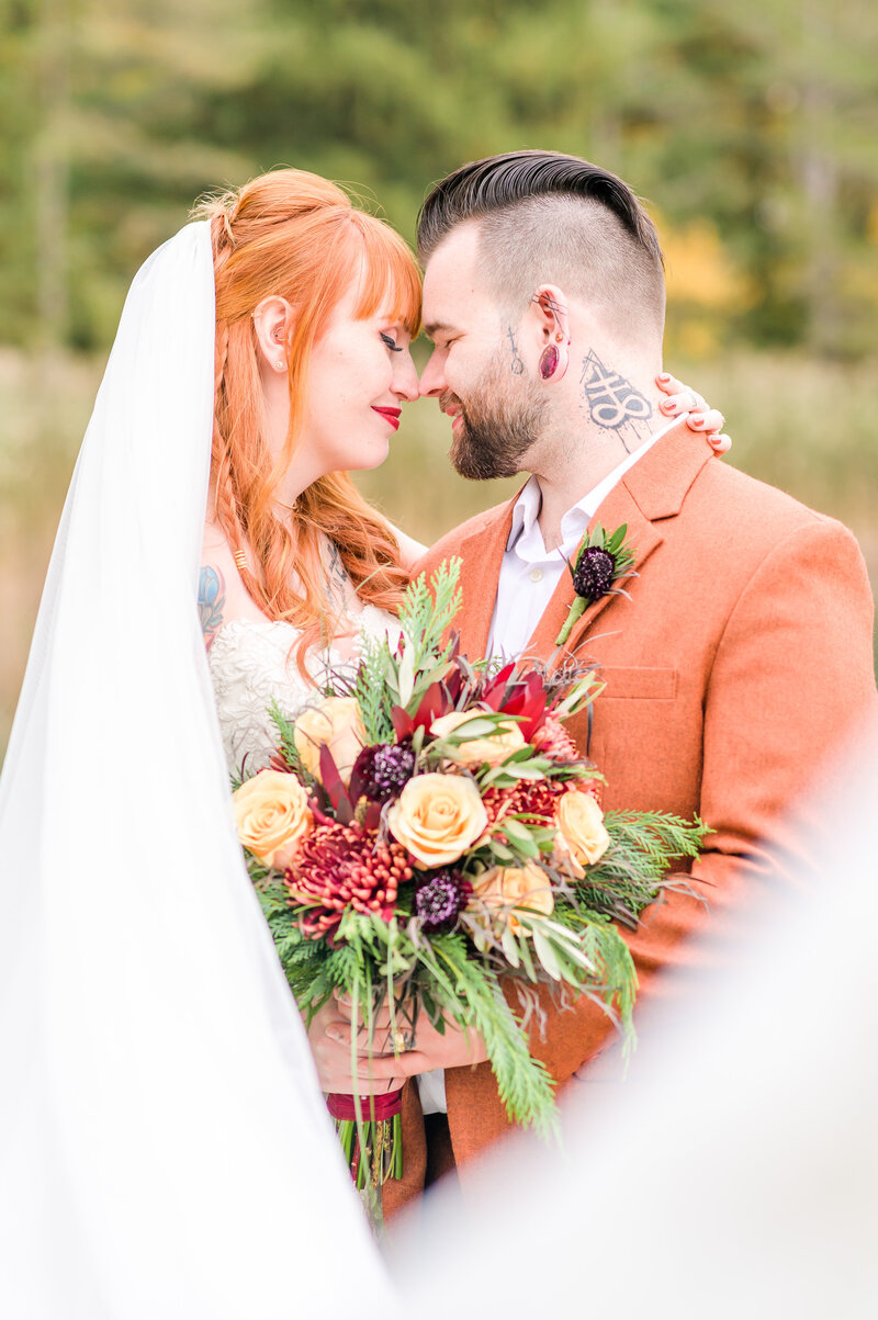 Fall Wedding at Blue Heron Lake