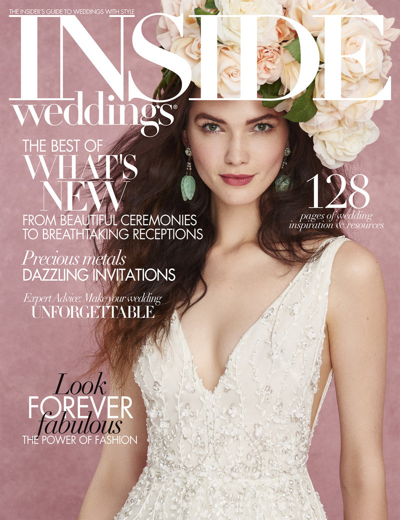 Inside Wedding Fall 2017 - Stylized Shoot - 0Cover